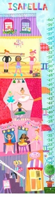 children's growth chart - ballet academy
