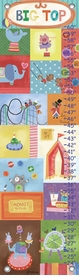 children's growth chart - big top circus