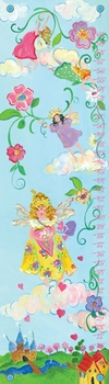 children's growth chart - fairy princess
