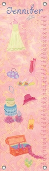 children's growth chart -  fashion plate