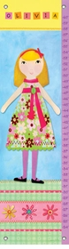 children's growth chart - my doll 3