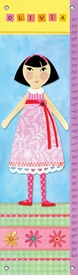 children's growth chart - my doll 5