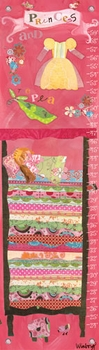 children's growth chart - princess and the pea
