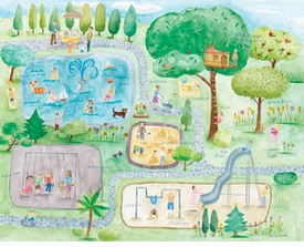 children's wall art by maria carluccio