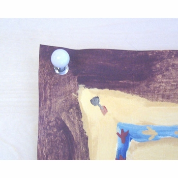 children's wall mural - counting planets