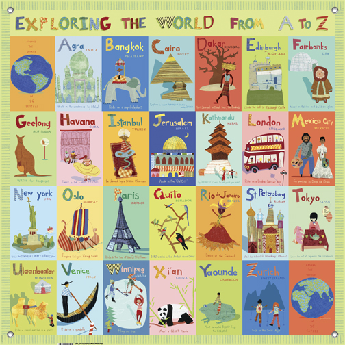 children s wall mural exploring the world from a z 17 best ideas about nursery tree mural 2017 on pinterest