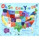 children's wall mural - oh say can you see