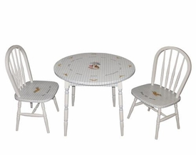 childrens rectangle table set (enchanted forest)