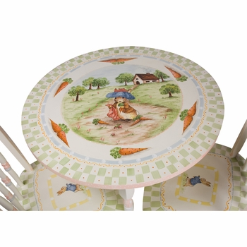 childrens table set (enchanted forest)