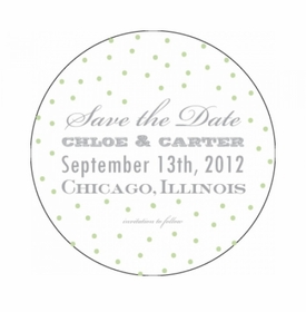 chloe & carter save the date card