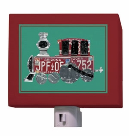 choo choo train nightlight