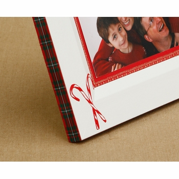 christmas candy cane picture frame