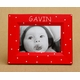 christmas holiday dot picture frame