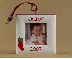 christmas stocking ornament
