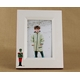 christmas toy soldier christmas frame