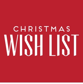 Christmas Wish List Large Notepad