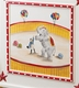 circus french panel crib by art for kids