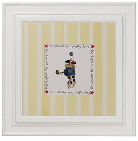 circus print (juggling dog)