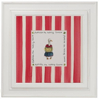 circus print (the duck)