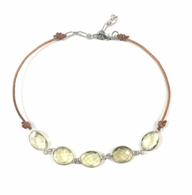 Citrine Isadora Statement Choker