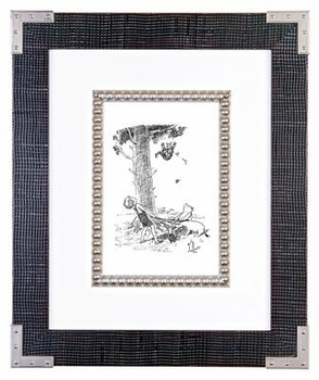 classic pooh black & white (style 2) - sold out