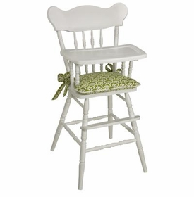 classic white high chair - discontinued