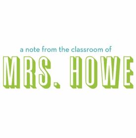 classroom note pad