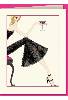 cocktail girl - blonde (set of 10)