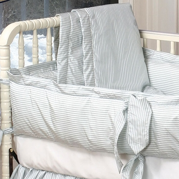 cocoon crib bedding (custom colors available)