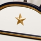 cody bed (gilding trim out /gold star moulding) - twin
