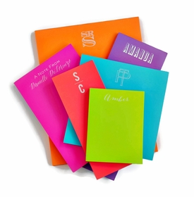 Combo Sets of White on Bright Note Pads