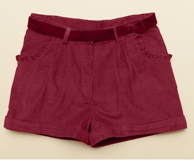 corduroy girls boysenberry dress short