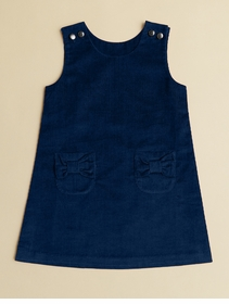 corduroy navy jumper dress