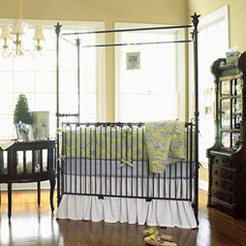corsican iron canopy crib - stars 40568 & corsican iron canopy crib - stars 40568 featured at babybox.com