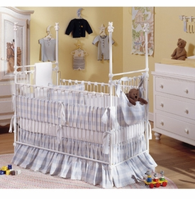 corsican teddy bear iron post crib