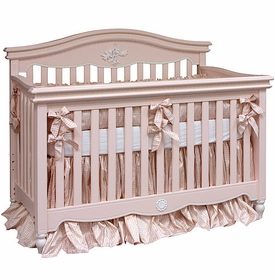 cosette gingham crib bedding by