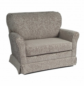 cottage chair and a half<br> (designed with your choice of fabric)