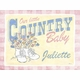 country baby vintage sign