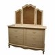 country french wide dresser