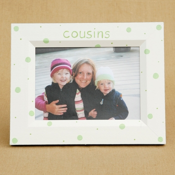 cousins hand painted frame