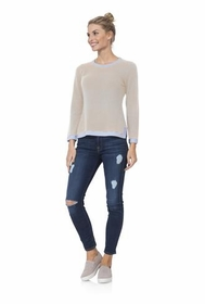 cozy for cashmere beige sweater