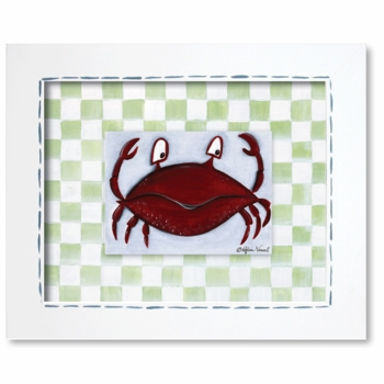 crab framed giclee reproduction wall art - SOLD OUT