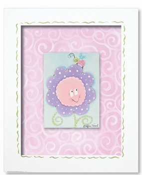 crazy daisy wall art - pink diamond - SOLD OUT