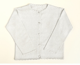 cream girls cardigan