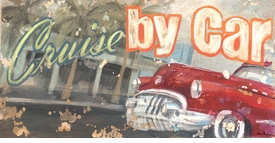 cruise by car wall art - unavailable