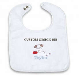 custom design baby bib