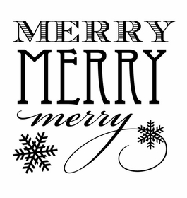 custom holiday stamp holiday merry