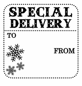 custom holiday stamp holiday specialdelivery