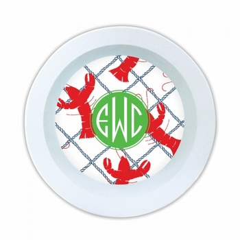 Rock Lobster Melamine Round Bowl