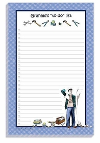 daddy's list note pad